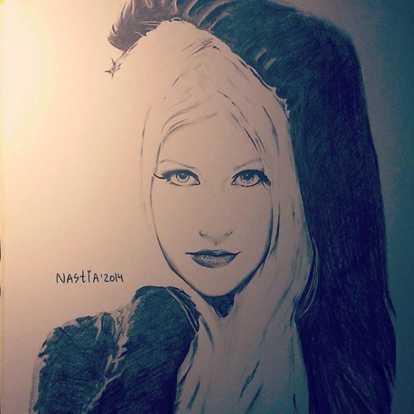 Christina Aguilera par nastiaofficial